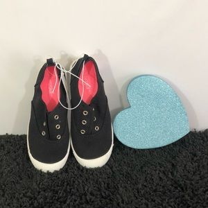 Girls Mandy Canvas slip ons